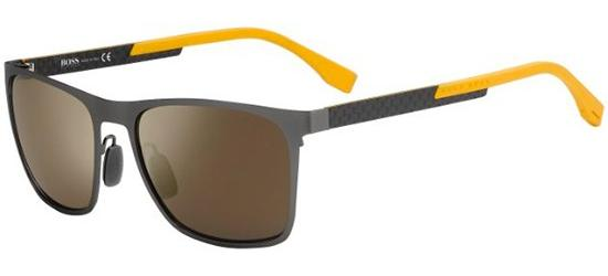 BOSS S0732S KCUHJ Ruthenium Carbon Yellow/Dark Grey Mirror