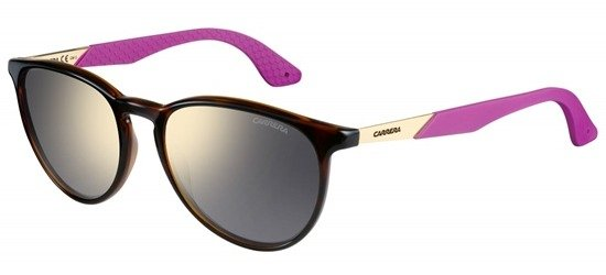 CARRERA 5019/S NB1UE Havana With Purple/Grey Silver Mirror Lenses