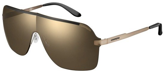 CARRERA 93/S ND4JO Bronze - Black / Lenses Black With Gold Mirror Effect