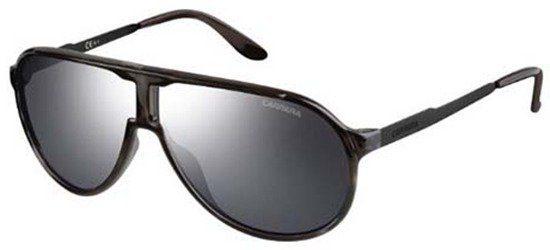 CARRERA NEWCHAMPION LAMT4 Havana - Black / Lenses Black With Silver Mirror Effect