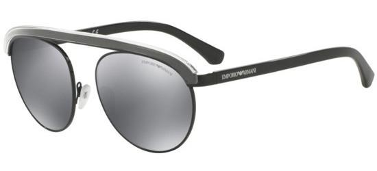 EMPORIO ARMANI EA2035 30146G Black/Grey Silver Mirror