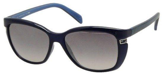 FENDI FS5258 424 Navy Blue Metal Frame/Grey Blue Shaded