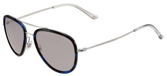 GUCCI GG2245/N/S H80EP Frame InHavana Blue - Silver/ Lenses Black