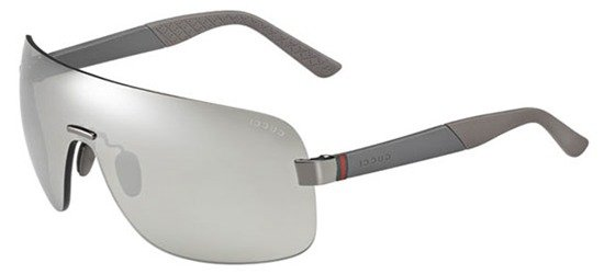 GUCCI GG2257/S JOPSS Frame In Grey / Lenses Silver Mirror