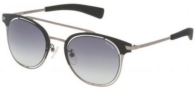 POLICE SPL158 0 531 Matt Gun Black/ Grey Gradient Lens