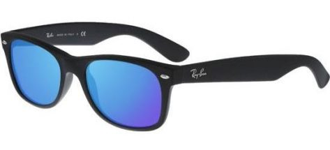 RAY-BAN RB2132 622/17 Matte Black/Crystal Blue Mirror