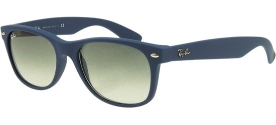RAY-BAN RB2132 811/32 Light Blue Rubber / Crystal Grey Gradient Lenses