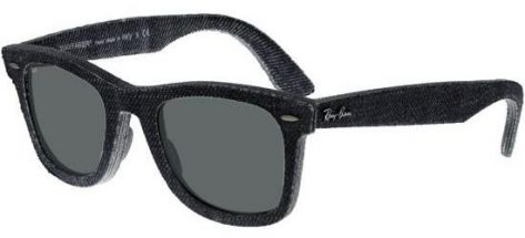 RAY-BAN RB2140 1162 Black Jeans/Crystal Grey Green