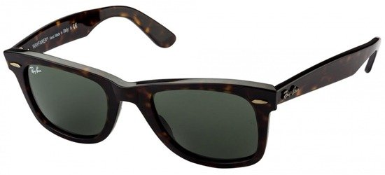 RAY-BAN RB2140 902 Havana/Crystal Grey Green