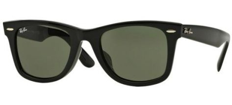 RAY-BAN RB2140F 901 Shiny Black