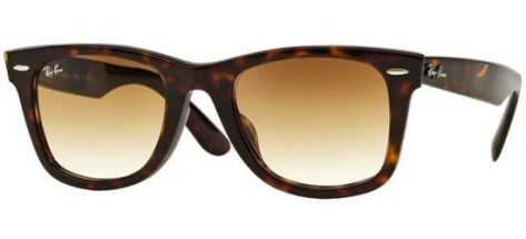 RAY-BAN RB2140F 902/51 Shiny Havana Brown/ Brown Gradient Lens