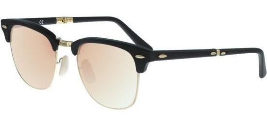 RAY-BAN RB2176 901/S7O Matte Black/Crystal Copper Mirror Shaded