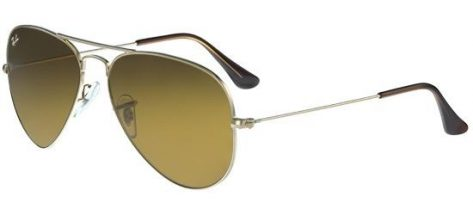 RAY-BAN RB3025 001/33 Gold/Crystal Brown