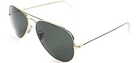 RAY-BAN RB3025 001/58 Gold/Crystal Grey Green Polarized