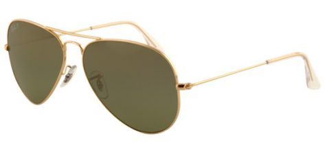 RAY-BAN RB3025 001/M2 Shiny Black/Crystal Grey Green Mirror Shaded
