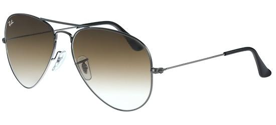 RAY-BAN RB3025 004/51 Silver/Crystal Light Blue Shaded