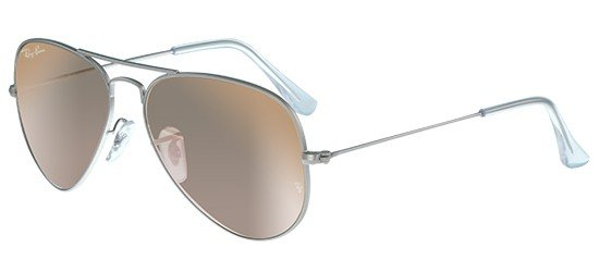 RAY-BAN RB3025 019/Z2 Silver/Crystal Brown Pink Mirror