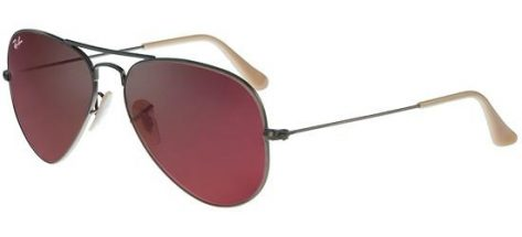 Ray-ban RB3025 167/2K Brushed Bronze/Crystal Brown Red Mirror