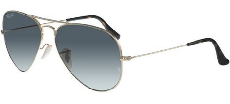 RAY-BAN RB3025 181/71 Shiny Gold/ Grey Gradient Lens