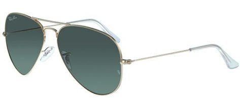 RAY-BAN RB3025 L02/05 Shiny Gold/Green Lens