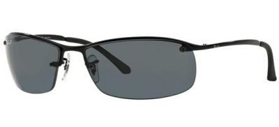 RAY-BAN RB3183 002/81 Black/Smoke Polarized