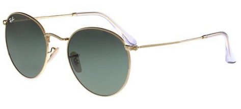 RAY-BAN RB3447 00 1 Gold/Crystal Grey Green