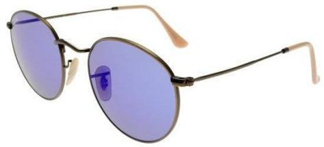 RAY-BAN RB3447 167/68 Brushed Bronze/Crystal Grey Blue Mirror