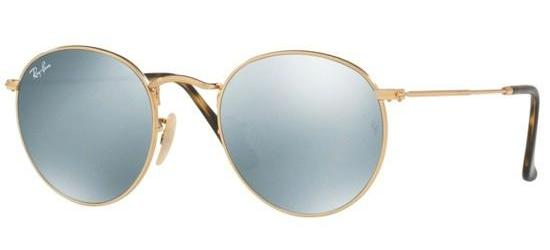 RAY-BAN RB3447N 001/30 Gold/Silver Mirror