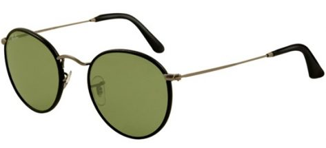 RAY-BAN RB3475Q 029/14 Shiny Black