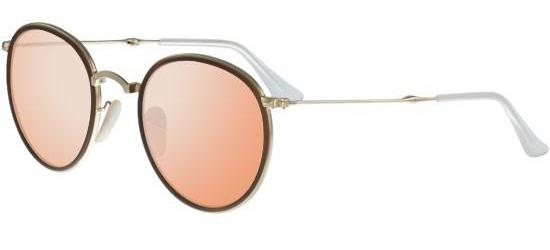 RAY-BAN RB3517 001/Z2 Brown Gold/Crystal Pink Mirror
