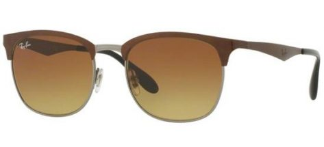 RAY-BAN RB3538 188/13 Brown Ruthenium/Brown Shaded