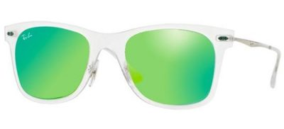 RAY-BAN RB4210 646/3R Matte Crystal/Grey Green Mirror