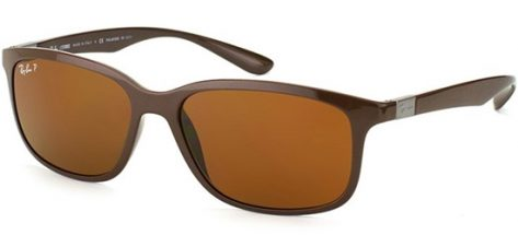 RAY-BAN RB4215 6127/83 Matt Brown/Brown Polarised Lens