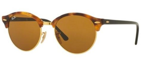RAY-BAN RB4246 1160 Spotted Brown Havana/Crystal Brown