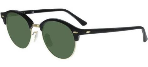 RAY-BAN RB4246 901 Black/Crystal Grey Green