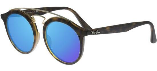 RAY-BAN RB4256 6092/55 Matt Havana/ Blue Mirror