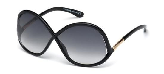 TOM FORD TF372 01B Black/Grey Shaded