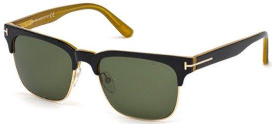 TOM FORD TF386 05N Black Yellow/Grey Green