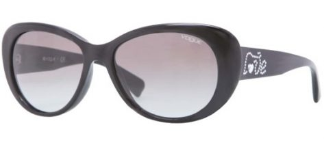 VOGUE 2868SB W44/11 Propionato Black. Gray Gradient