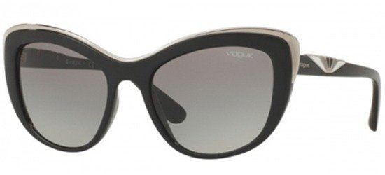 VOGUE 5054S W44/11 Black/Grey Shaded