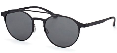 Adidas Originals AOM003 /009.000 MATTE BLACK FRAME/ GRAY LENSES