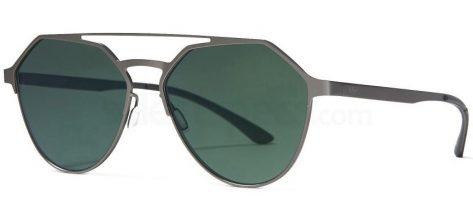 Adidas Orig AOM009 /078.000 Gun Metal FRAME/ Green Mirrored LENSES