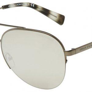 Armani Ex AX2020s 6088/6G Matte Gunmetal/Silver Mirror