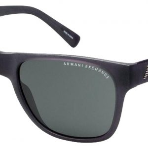 Armani Ex AX4008 8020/87 Matte Black/Dark Gray