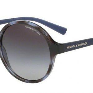 Armani Ex AX4059s 8206/8G Havana Blue Twilight