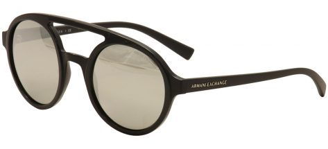 Armani Ex AX4060s 8211/6G Black and Light Grey/Silver Mirror