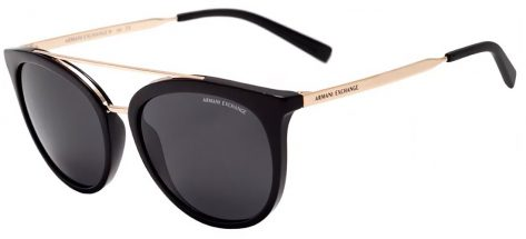 Armani Ex AX4068s 8158/87 Black / Gold