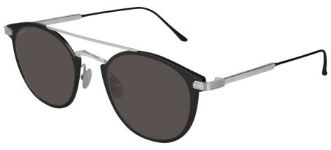 Cartier CT0015S 004 Gun Black/grey