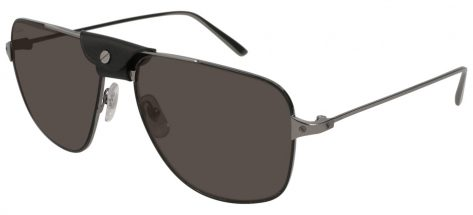 Cartier CT0037S 001 Gun Ruthenium/grey