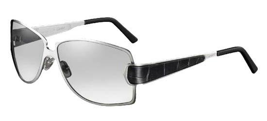 CARTIER T8200722 GRAY Black Frame / Gray Lenses